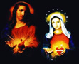 Two Hearts - Mary and Jesus
